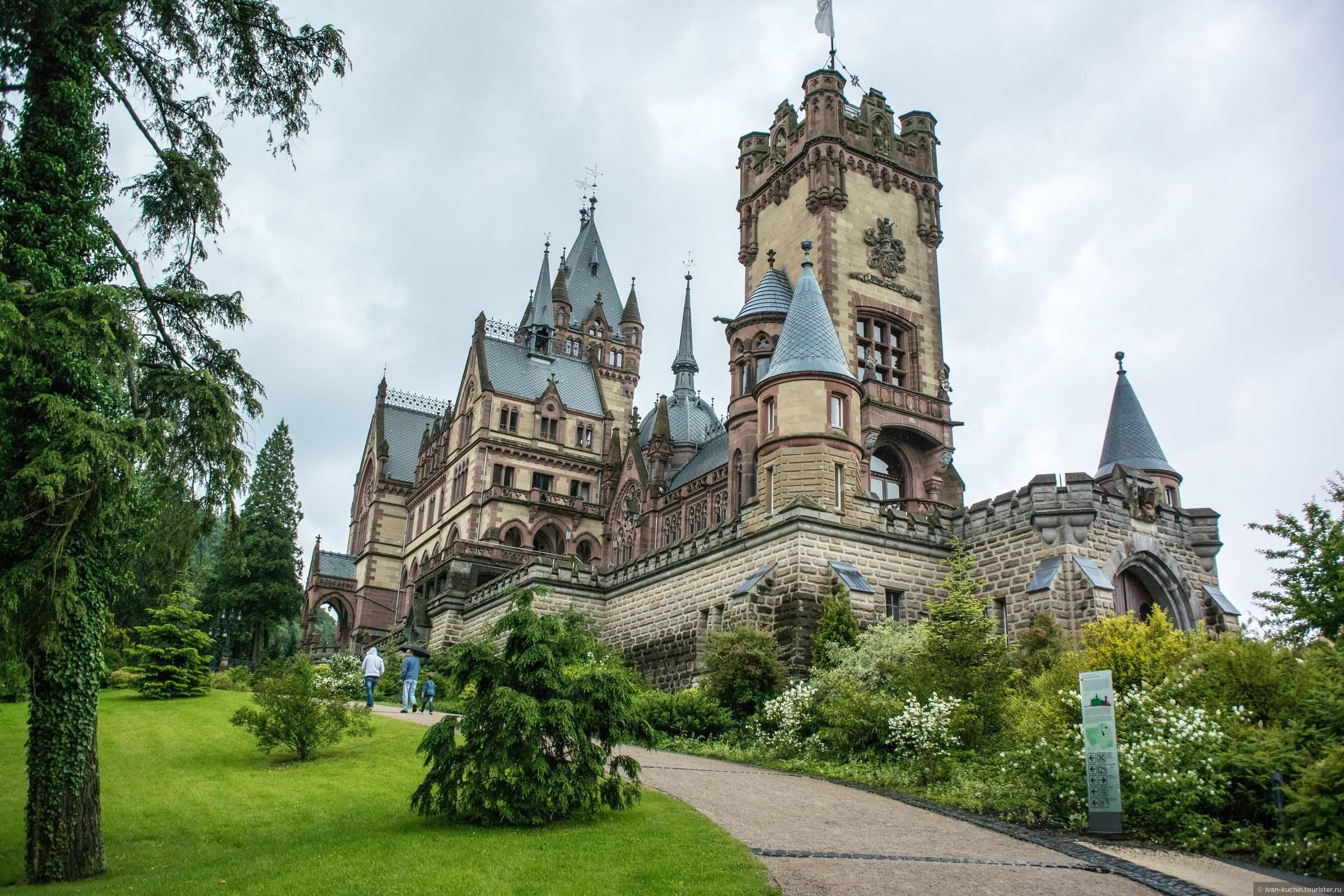 Замок драхенбург (schloss drachenburg) описание и фото - германия: северный рейн-вестфалия