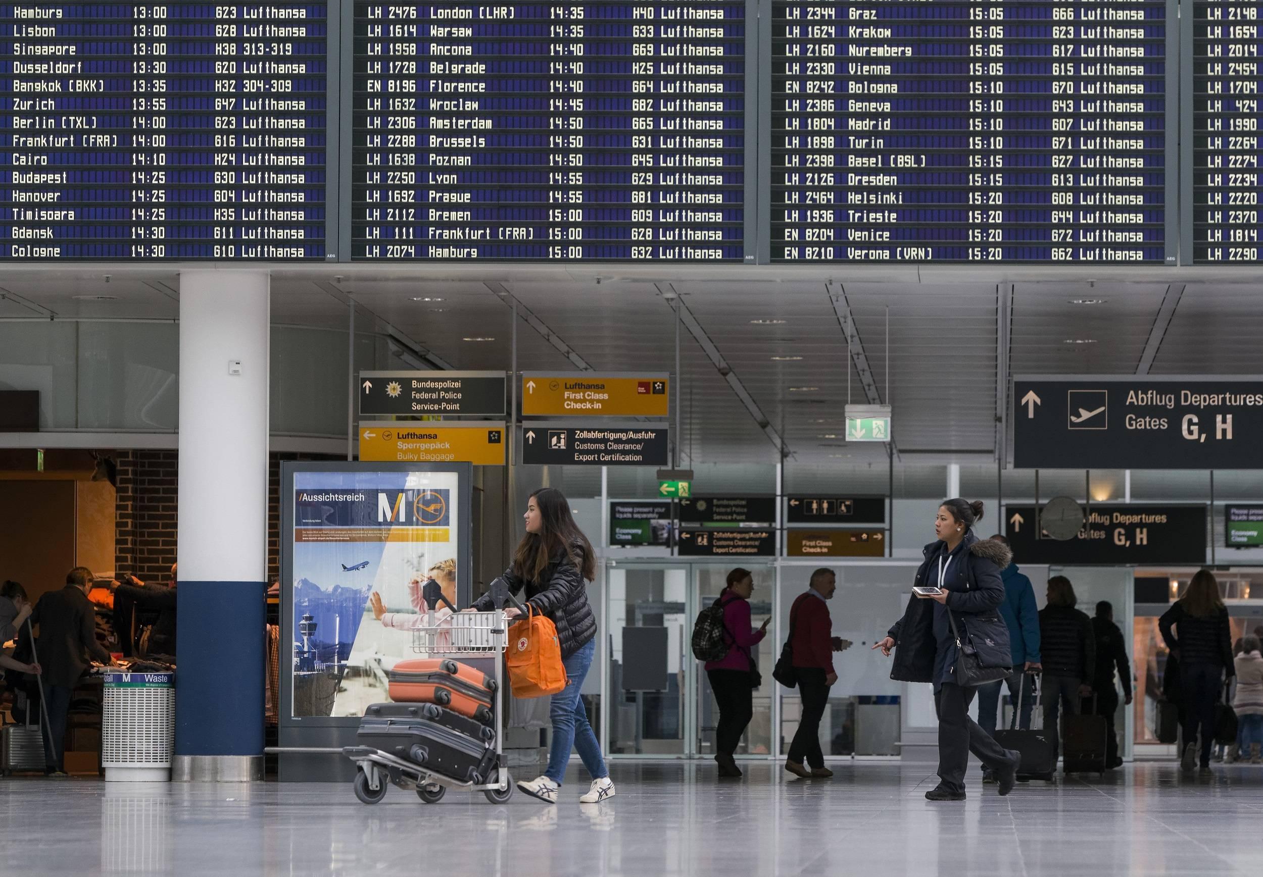 Аэропорт города мюнхен