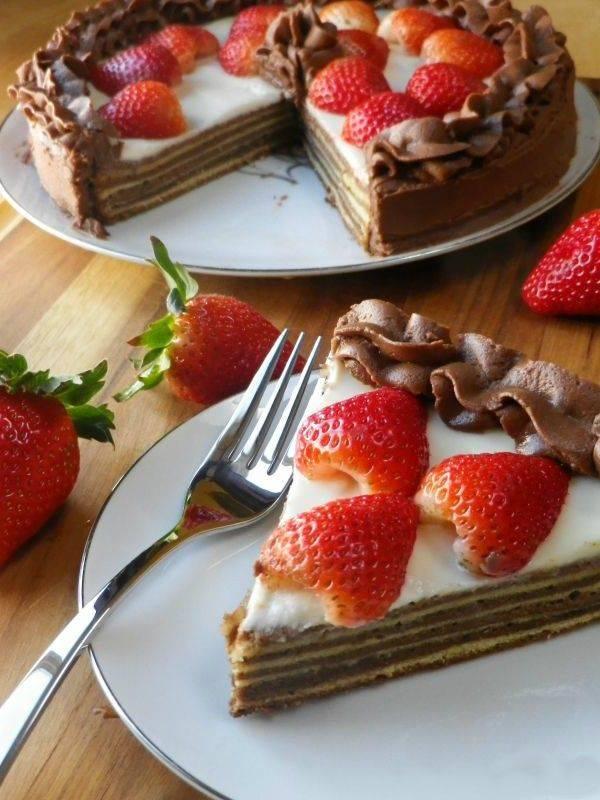 Популярные рецепты популярных немецких тортов