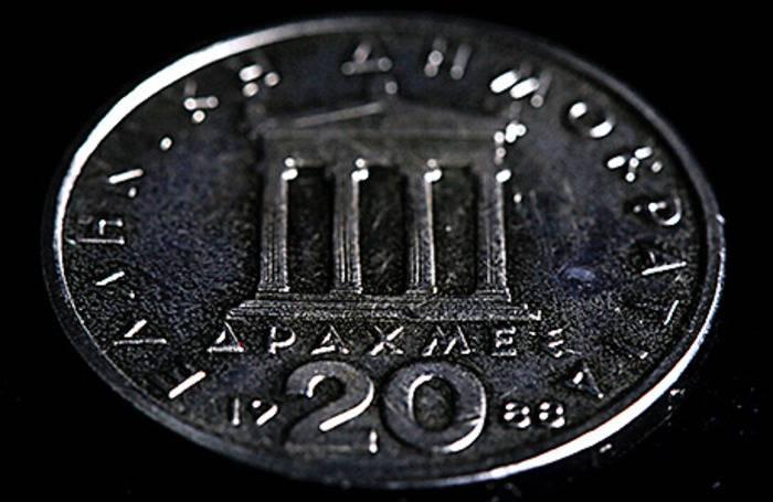 Деньги греции история
