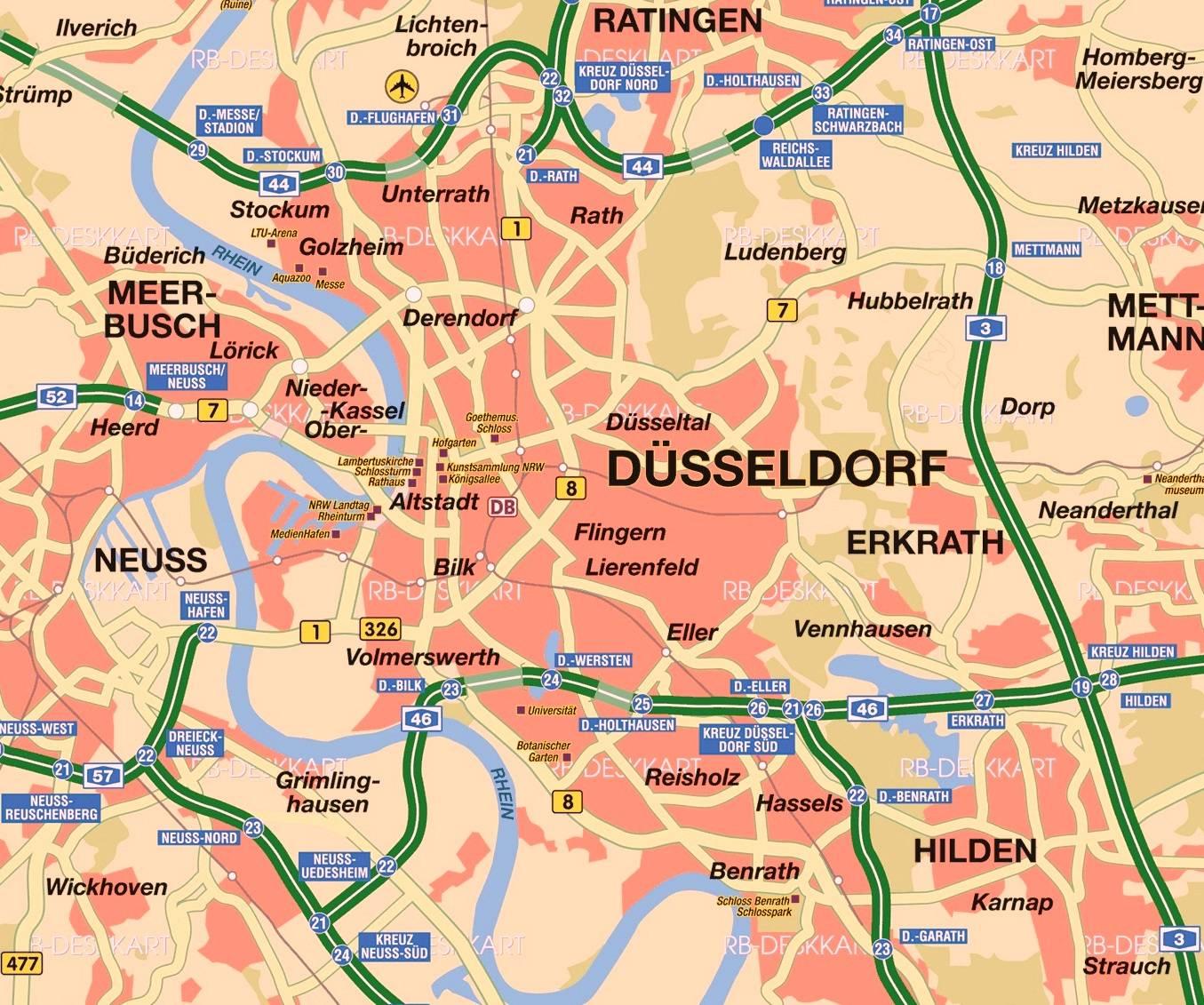 Как добраться из дюссельдорфа в кельн: все способы