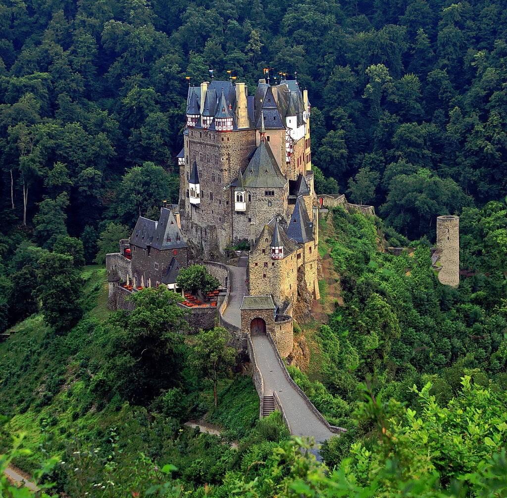 Замок эльц в германии - интереснейшее место для туриста