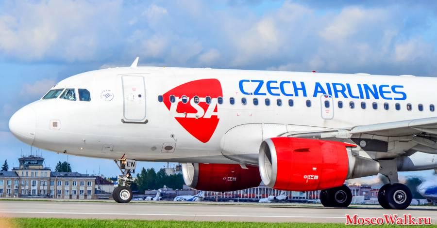 Авиабилеты czech airlines