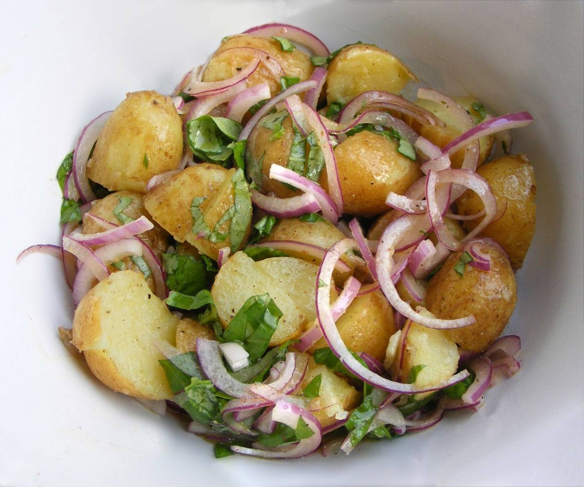 Картофельный салат — 10 рецептов классического и немецкого салата