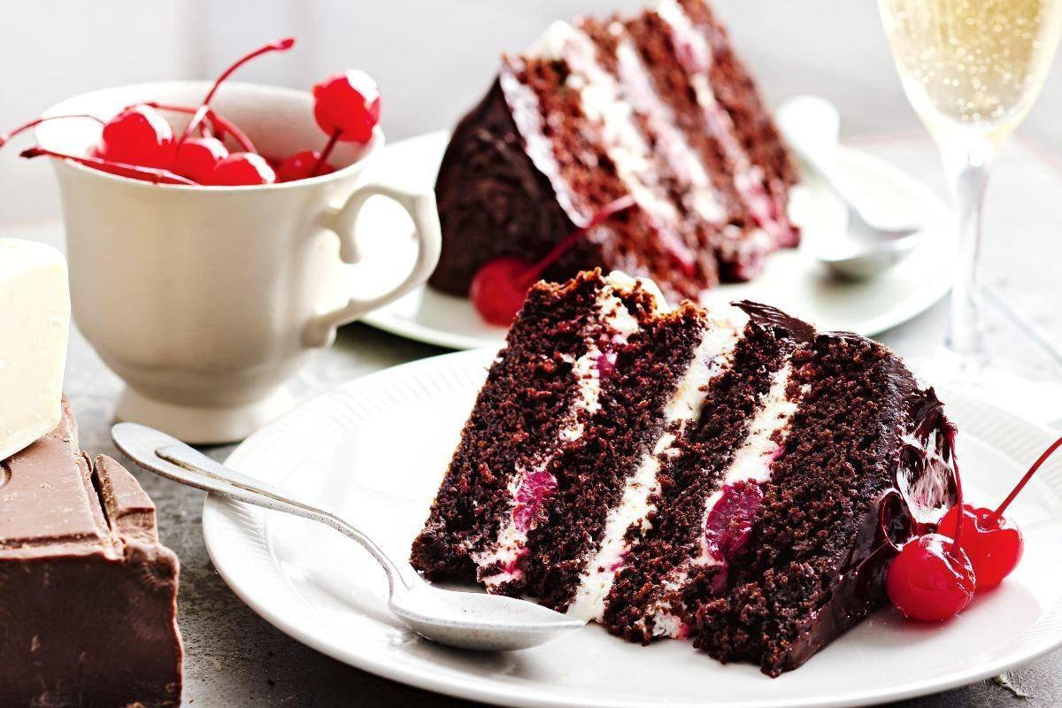 Шварцвальдский торт: классический рецепт с фото