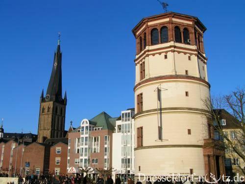 Город дюссельдорф и его главные достопримечательности с описанием и фото