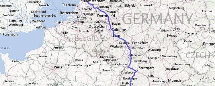 Как быстро и удобно добраться из Берлина в Амстердам
