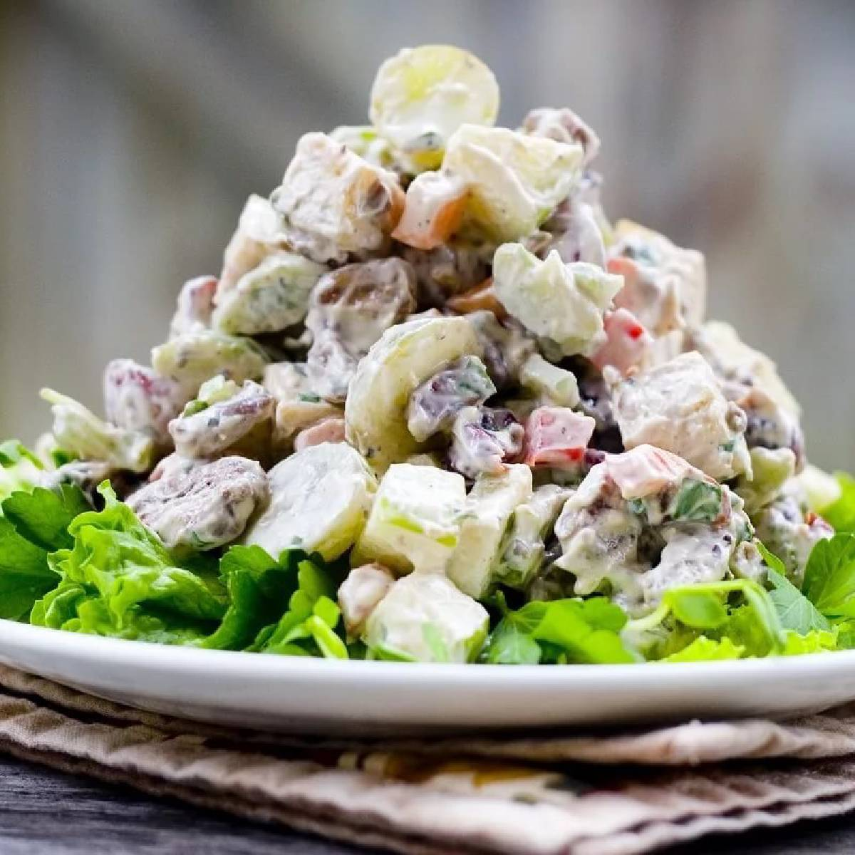 Салат немецкий – удивительное национальное блюдо: рецепт с фото и видео