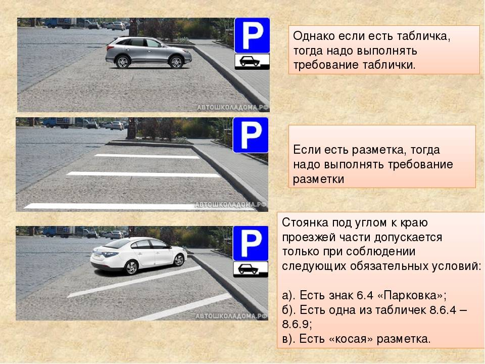 Знаки парковки с табличками: фото с пояснениями
