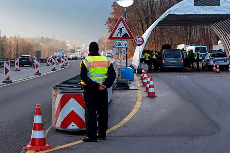 Границы германии: куда можно и нельзя ехать (обновляется)