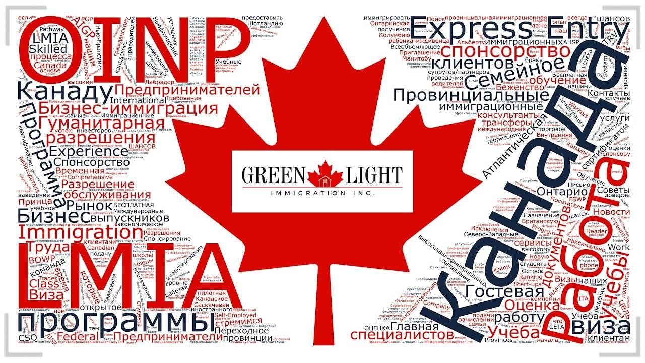 Провинциальные программы иммиграции в канаду в 2020 году (pnp)
