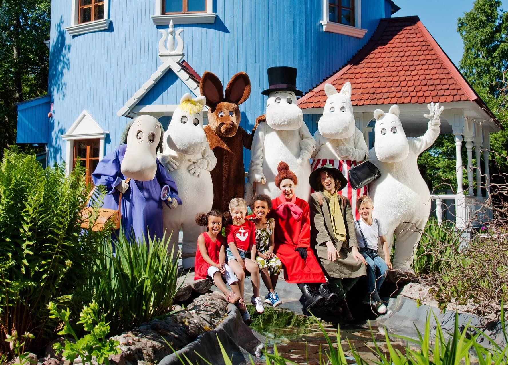 Как попасть в Страну Муми-троллей в Финляндии