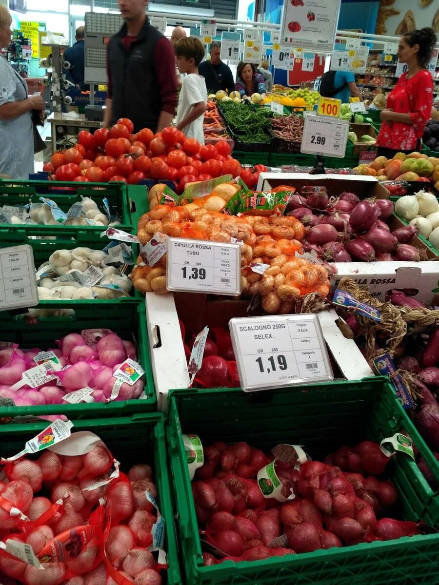 Цены в италии в 2021 году: продукты, одежда, развлечения