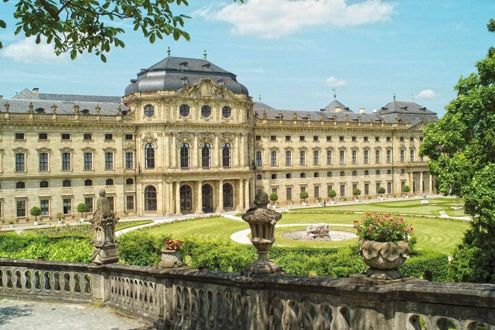 Шедевр эпохи барокко: Вюрцбургская резиденция
