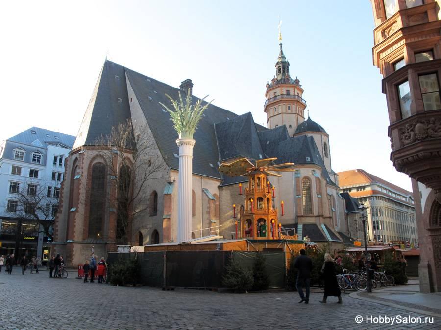Величественные храмы и соборы Лейпцига