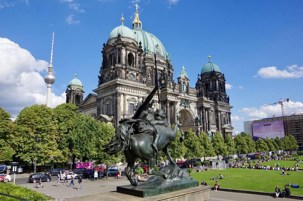Берлинский кафедральный собор. достопримечательности берлина