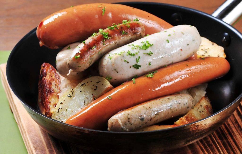 Немецкие колбасы и другие деликатесы