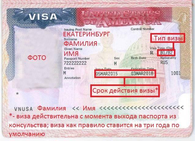 Виза в сша | туристическая виза в америку, оплата по факту получения визы