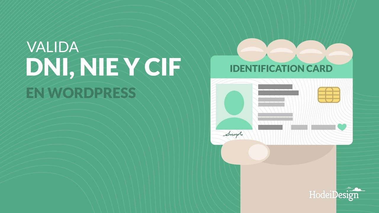 Различия между dni, nif, nie и cif в испании