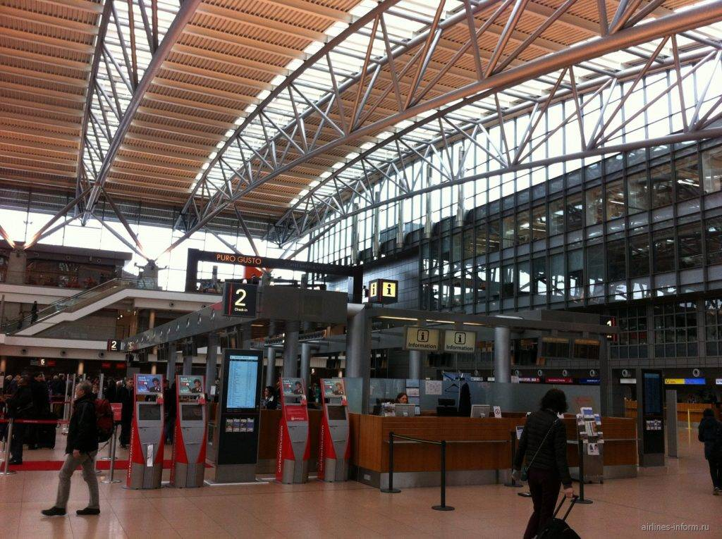 Как добраться из центра гамбурга до аэропорта