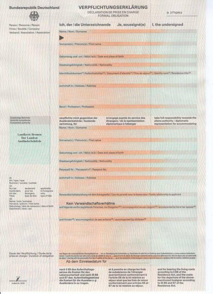 Гостевая виза в германию по приглашению в 2019 году | visametric