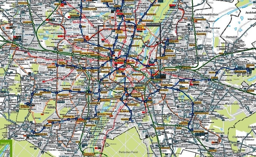 Общественный транспорт и метро в мюнхене. как пользоваться?
