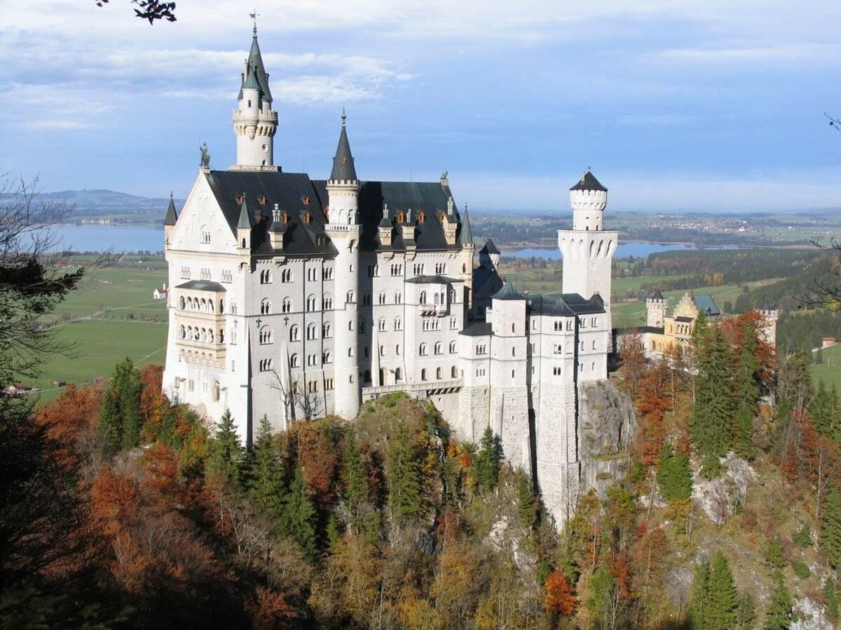 Замок нойшванштайн: история, описание, фото