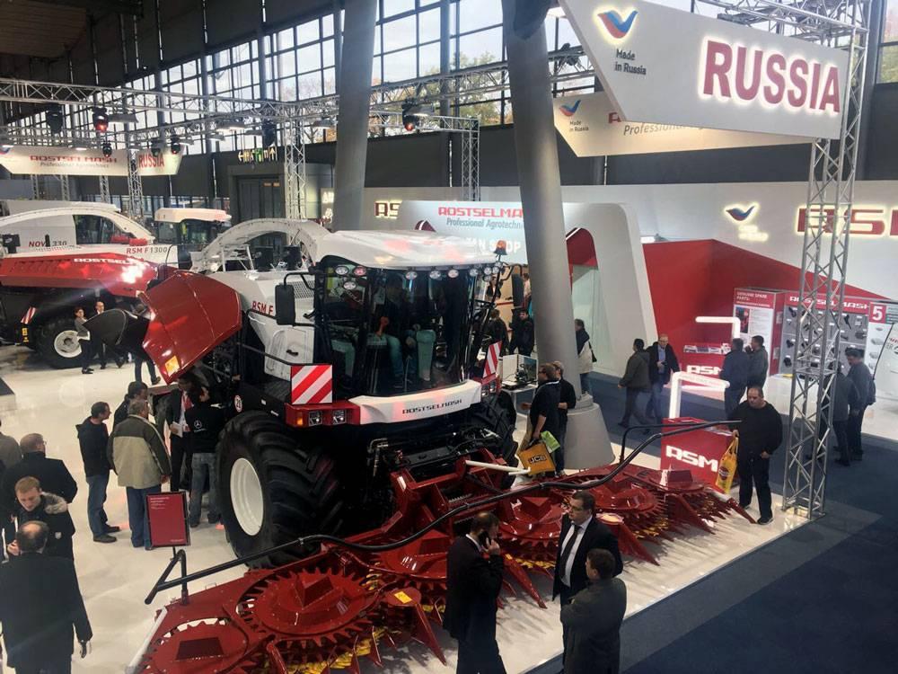 Сельскохозяйственная выставка в ганновере