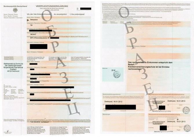 Как оформляется деловая виза в германию