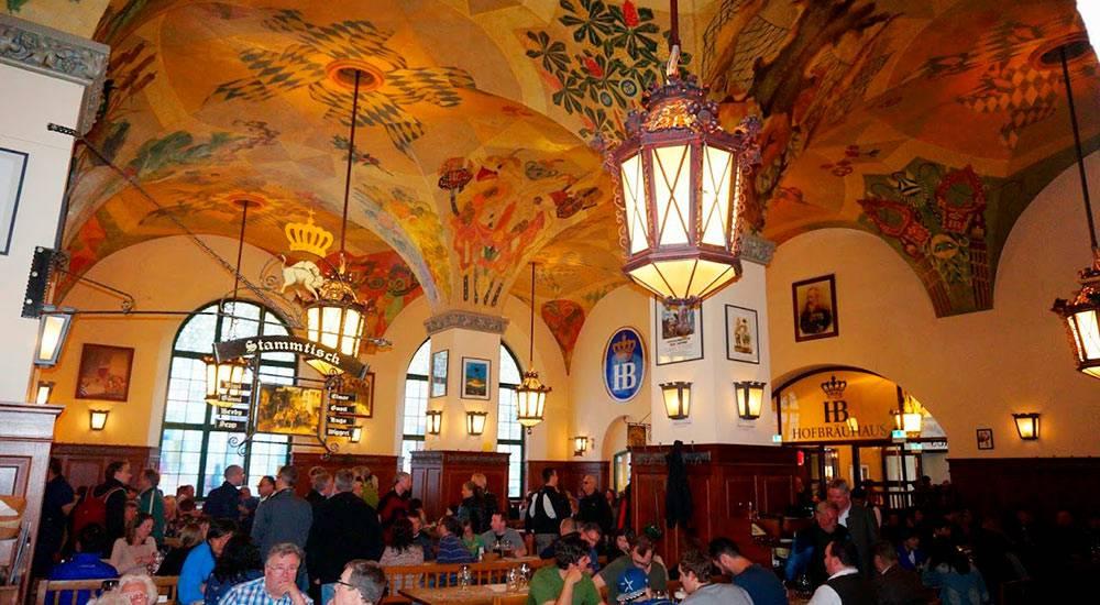 Хофбройхаус в мюнхене (hofbräuhaus münchen) - исторический пивной ресторан