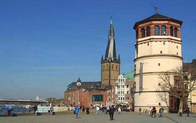 Храмы, соборы и мечети дюссельдорфа: описание