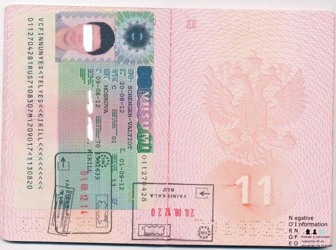 Как и где оформить финскую визу в санкт-петербурге