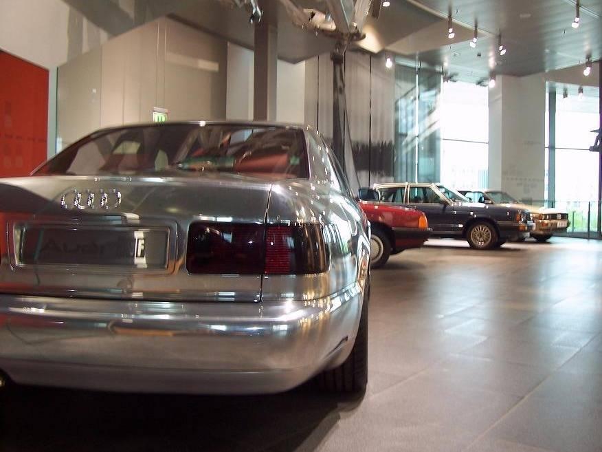 Музей ауди в ингольштадте, германия - галерея