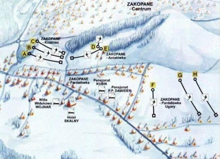 Как добраться до Закопане из Москвы: способы, маршруты и цены на билеты