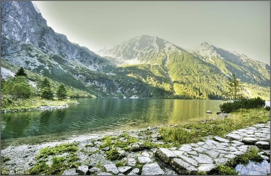 Поход к озеру морское око. активный отдых в польских татрах летом.