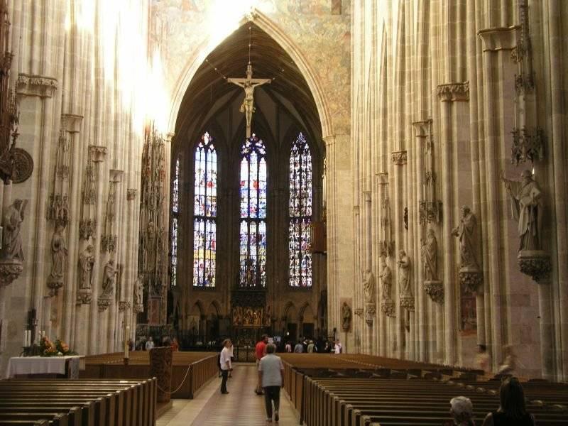 Ульмский собор, ульм (германия): история, фото, как добраться, адрес на карте и время работы в 2021