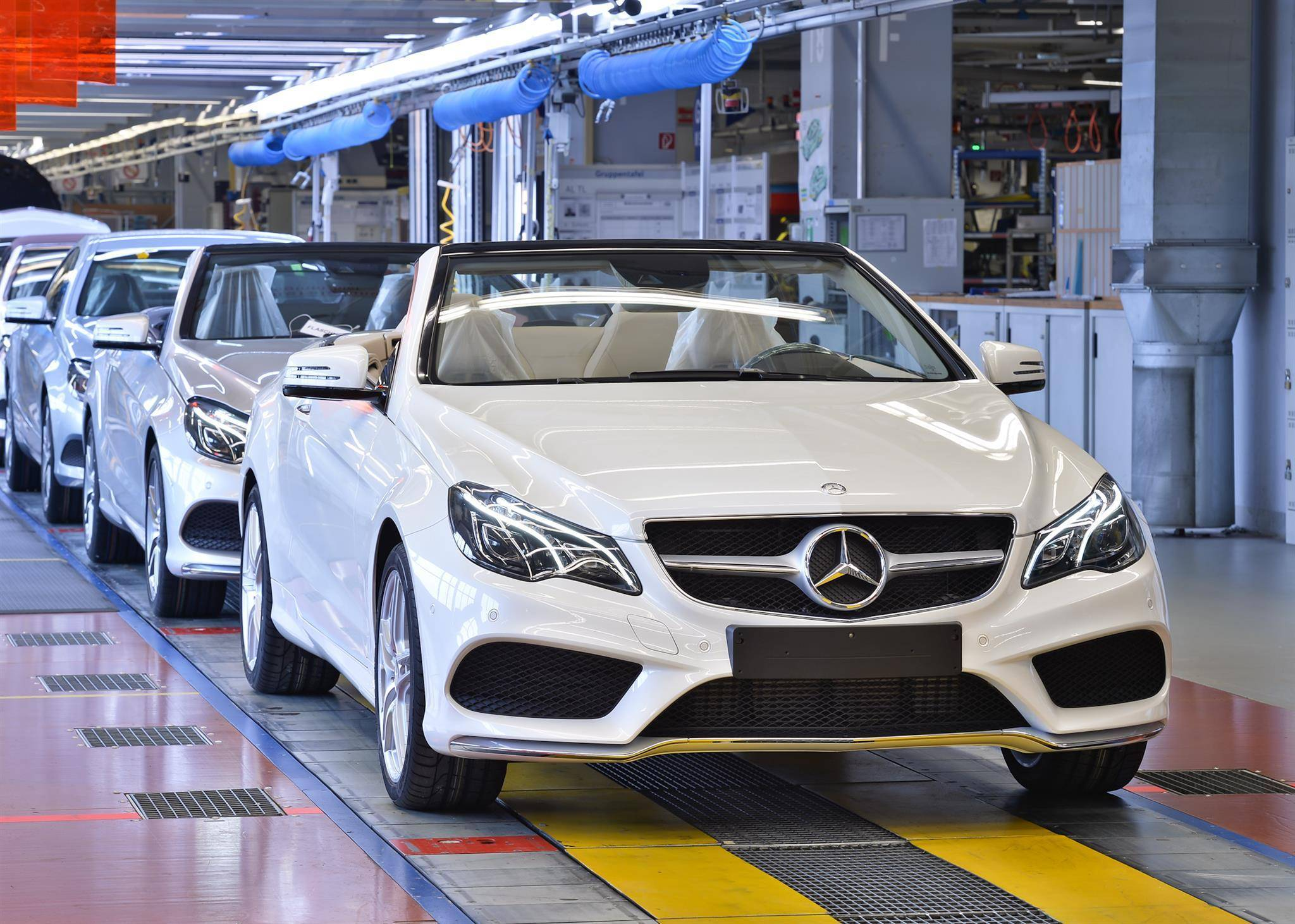 Все о производстве автомобилей мерседес в германии