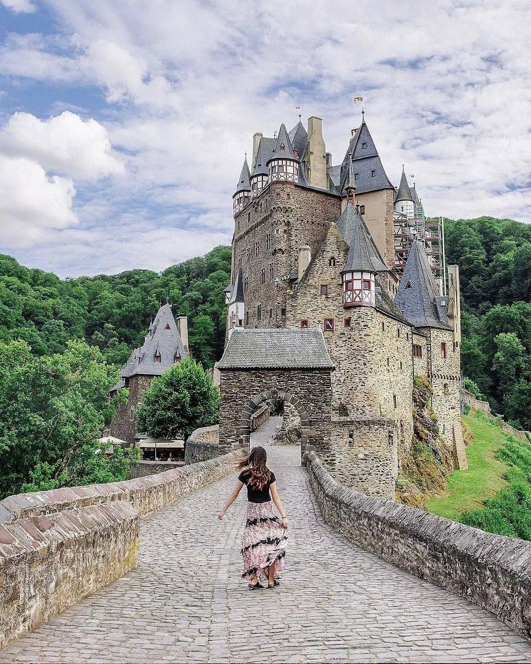 Замок эльц (burg eltz) - замки германии