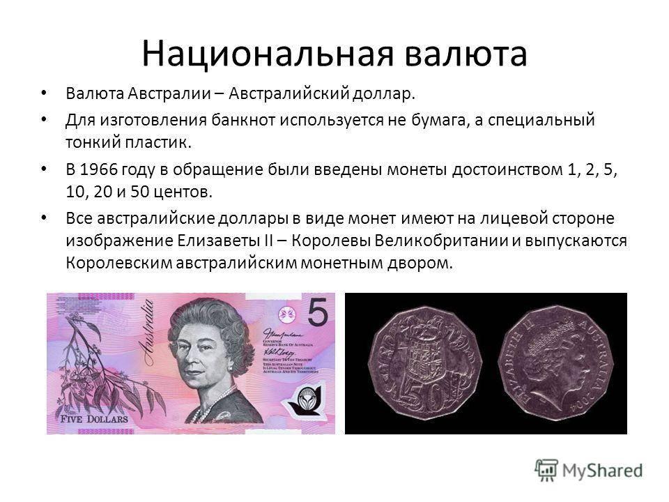 Австралийский доллар — википедия