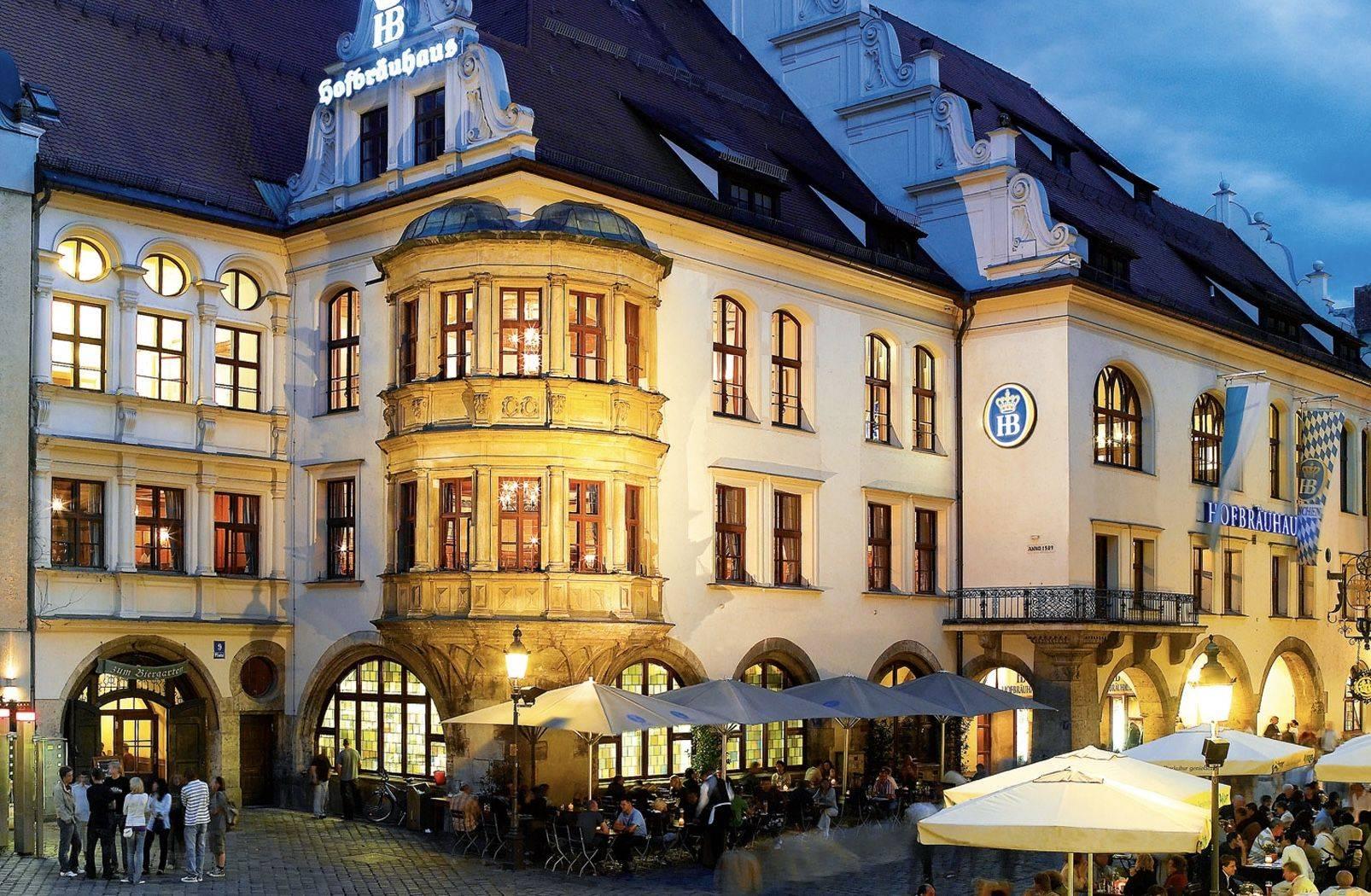 Пивной ресторан хофбройхаус в мюнхене: адрес, меню и цены