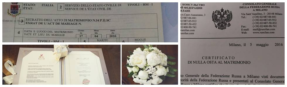 Регистрация брака в италии - основные нюансы
