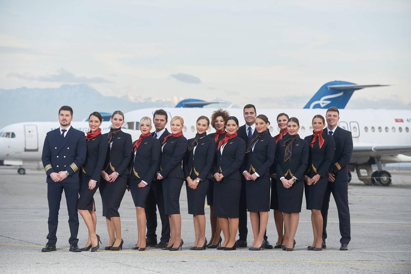 Авиакомпания montenegro airlines (монтенегро)