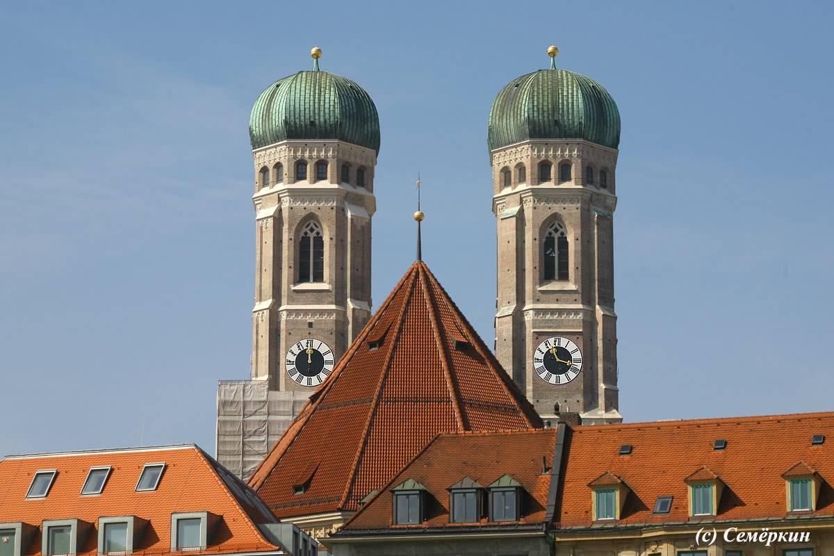 Церковь святого петра, святого михаила, новая ратуша — прогулка по пешеходной улице мюнхена