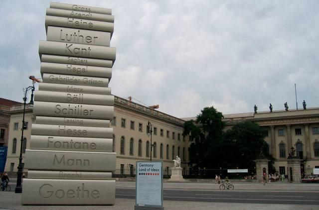 Берлинский университет имени гумбольдта — википедия. что такое берлинский университет имени гумбольдта