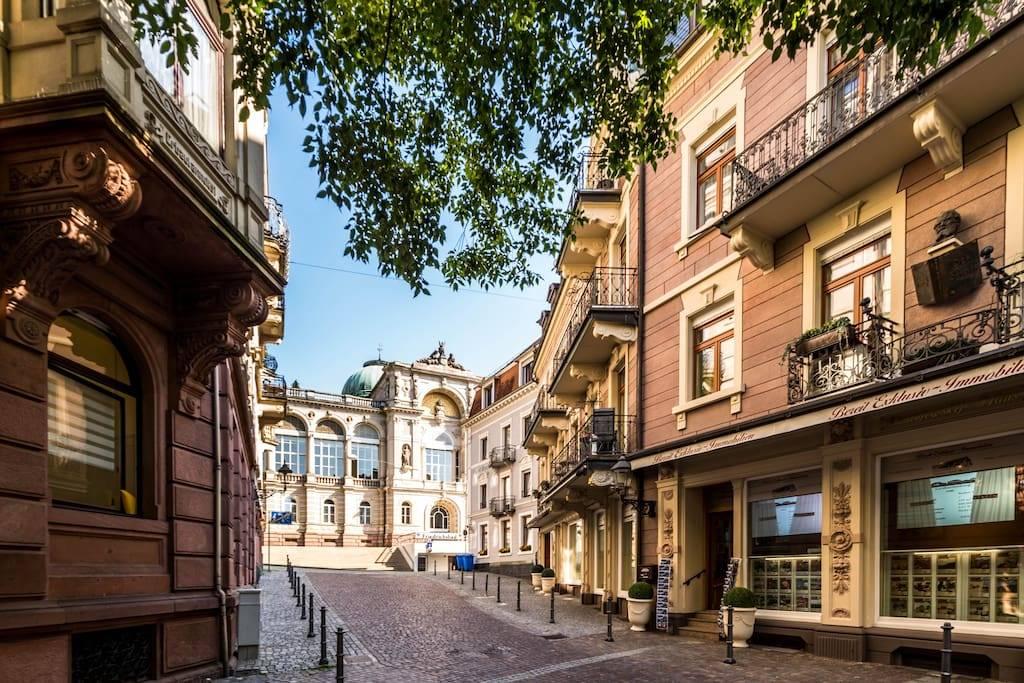 Недвижимость в германии, недвижимость в баден-бадене, квартиры, дома, пентхаусы в баден-бадене