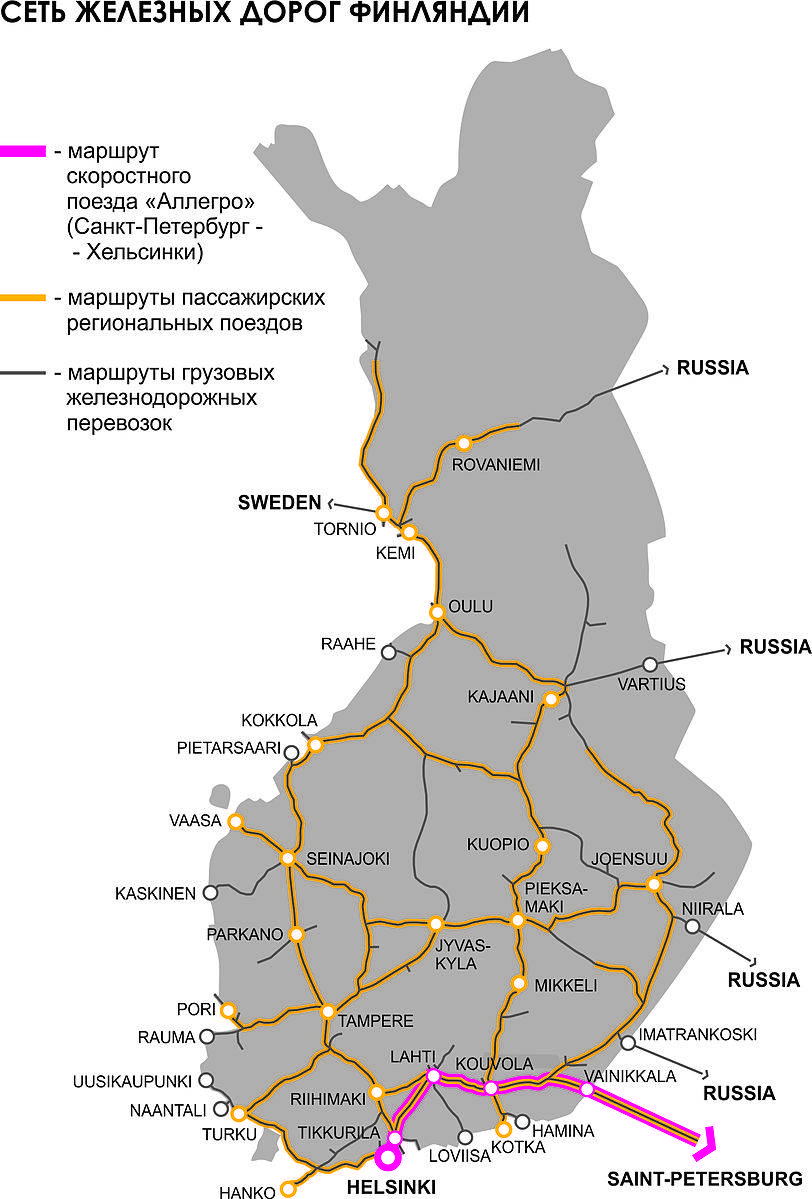 Дороги в финляндии – правила, скорость, маршруты