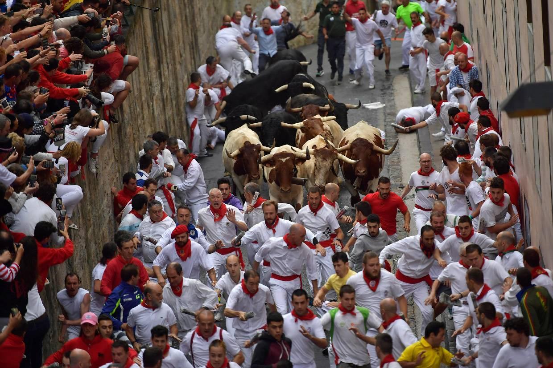 Праздник с быками: фестиваль Сан-Фермин в Испании