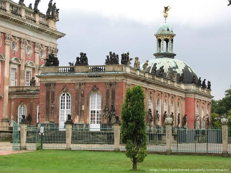 Дворец сан-суси в потсдаме в германии | gawain.ru