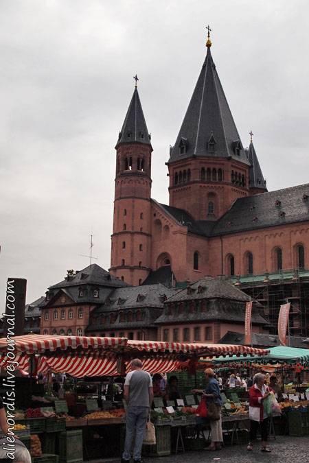 Имперский Вормсский собор в Германии