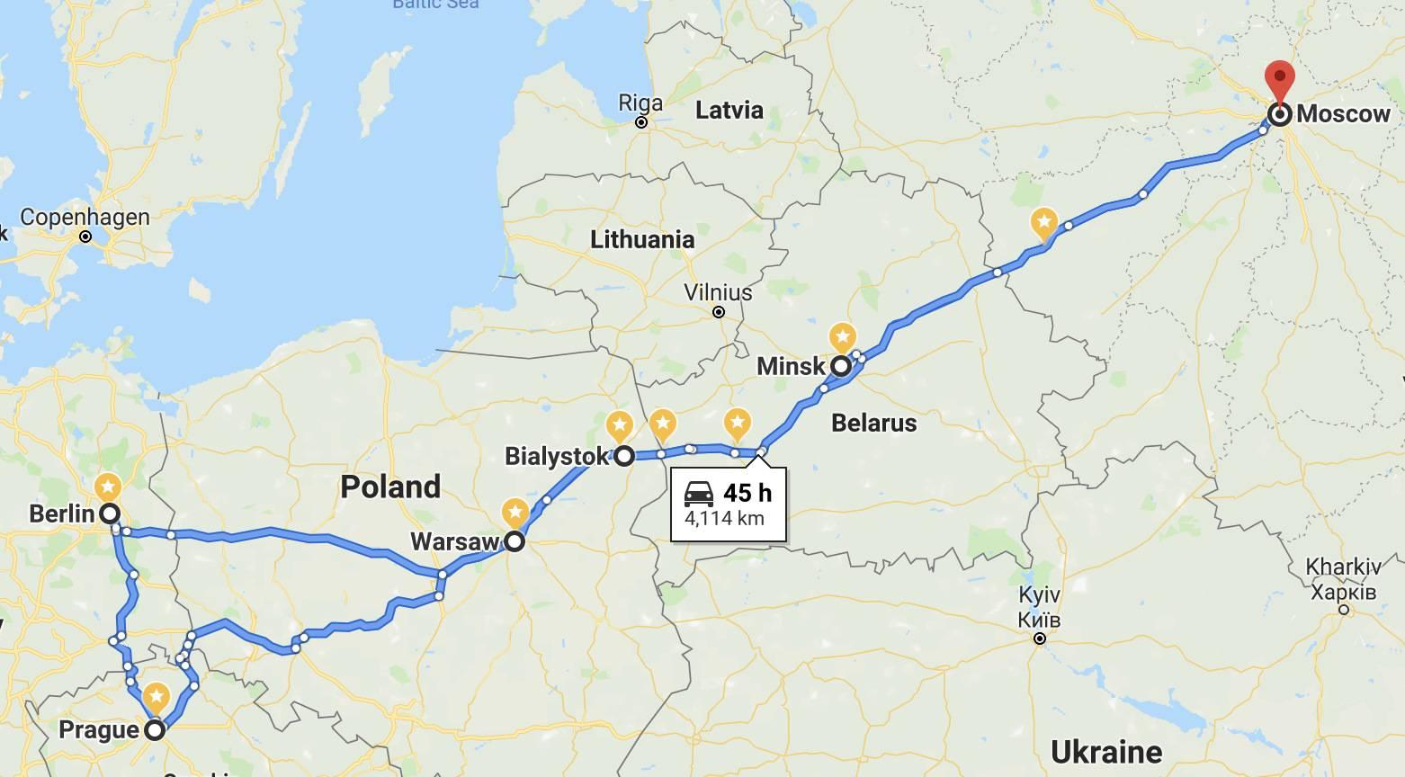 Дешевые автобусные билеты из вильнюса в берлин от 5610 ₽